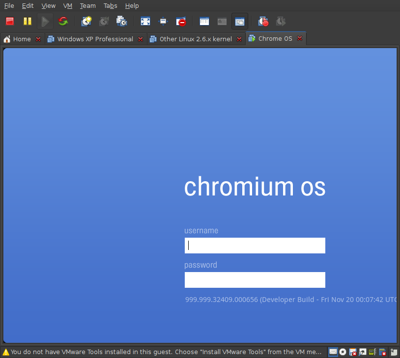 Screenshot-Chrome OS - VMware Workstation-1