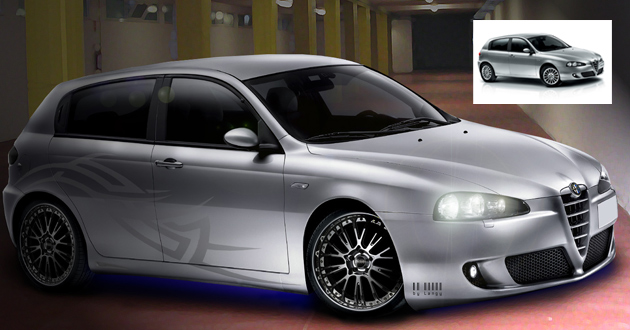 Virtual Tuning Alfa Romeo 147