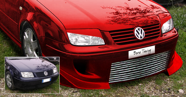 Virtual Tuning VW Bora