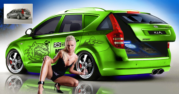 Virtual Tuning Kia