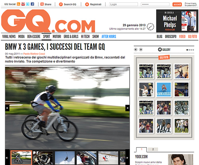GQitalia.com: Photos of BMW X3 Games