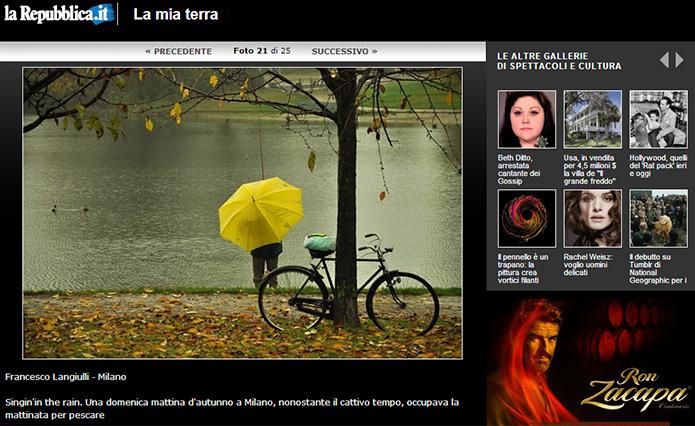 Repubblica.it: La mia terra