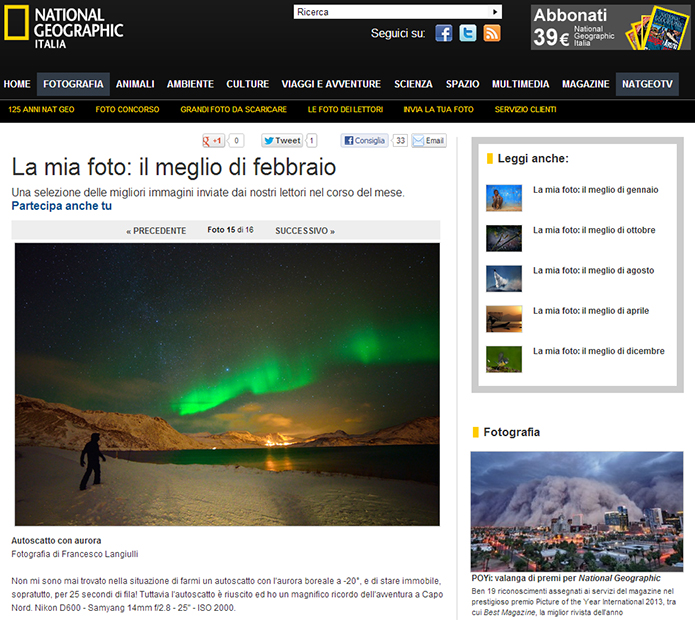 National Geographic - il meglio di febbraio