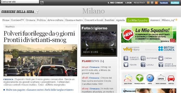 [WEB] Corriere Milano: Polveri fuorilegge da 9 giorni
