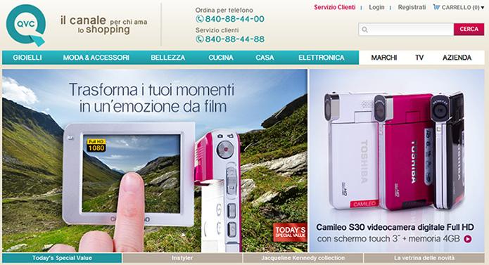 """QVC Italia - """"Forcola di Livigno"""""""
