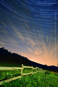 Startrails Piani Resinelli